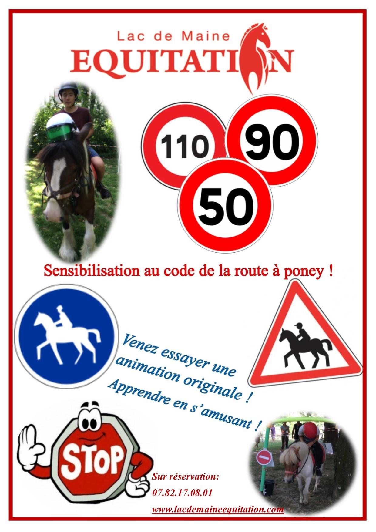 affiche sensibilisation code de la route