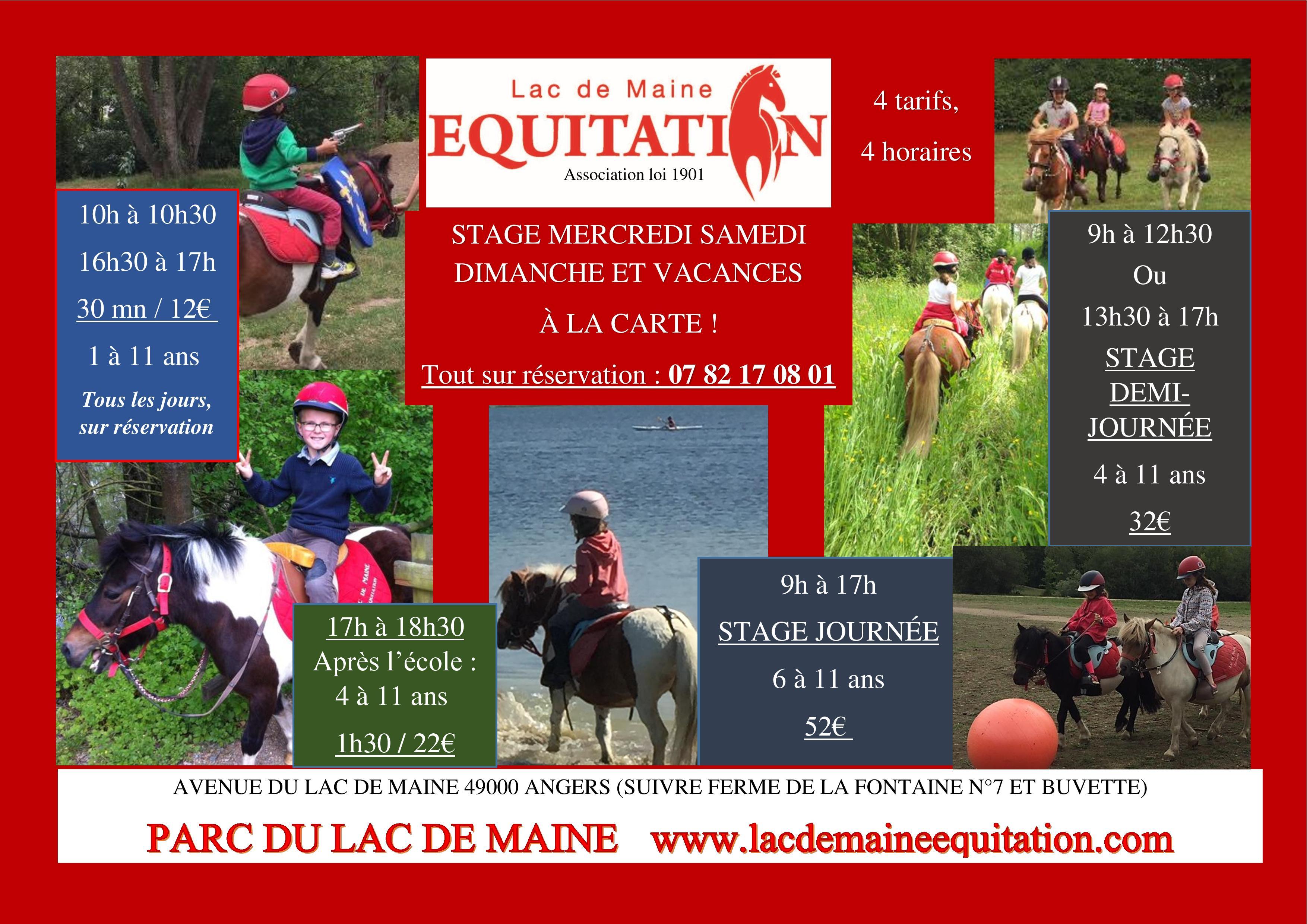 Les Formules Lac De Maine Equitation